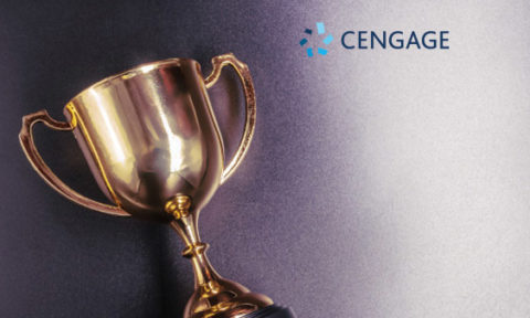 "Cengage Wins Customer Relationship Management Institute's ""NorthFace ScoreBoard Award"" for Second Consecutive Year"